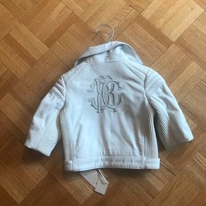 BNWT Roberto cavalli leather jacket